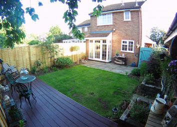 Thumbnail 1 bed end terrace house for sale in Wordsworth Avenue, Newport Pagnell, Milton Keynes