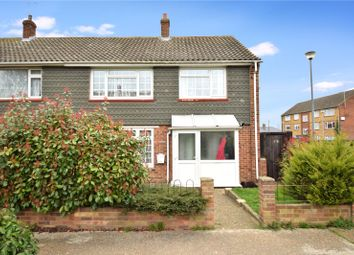 Thumbnail 4 bedroom end terrace house for sale in Bushfield Walk, Swanscombe, Kent