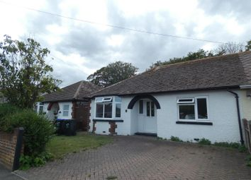 Thumbnail 3 bed semi-detached bungalow to rent in Kings Avenue, Broadstairs
