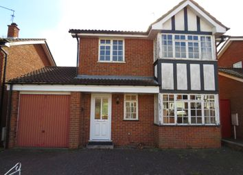 Thumbnail 4 bed detached house for sale in Westbury Close, Duston, Northampton