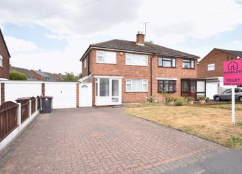 Thumbnail 3 bed semi-detached house to rent in Wombridge Road, Trench, Telford