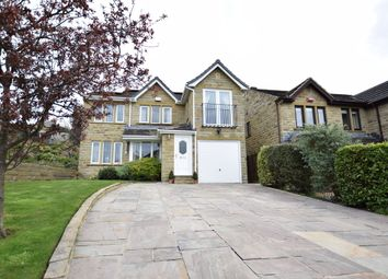 Thumbnail 4 bedroom detached house for sale in Park Avenue, Shelley, Huddersfield