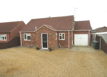 Thumbnail 3 bedroom detached bungalow for sale in Mill Road, Wiggenhall St. Mary Magdalen, King's Lynn