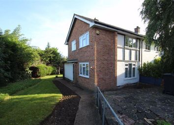 Thumbnail End terrace house for sale in Oakwood Hill, Loughton, Essex