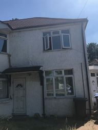 Thumbnail 3 bed flat to rent in Curzon Avenue, Enfield