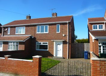 Thumbnail 2 bed semi-detached house for sale in Brockley Avenue, South Shields