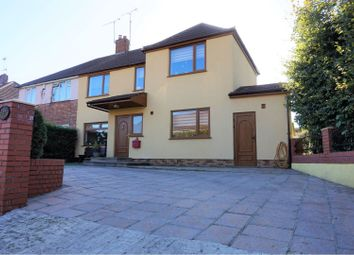 Thumbnail 5 bed semi-detached house for sale in Maple Lodge Close, Maple Cross, Rickmansworth