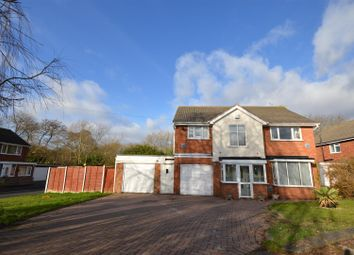 Thumbnail 4 bed detached house for sale in Moseley Drive, Marston Green, Birmingham