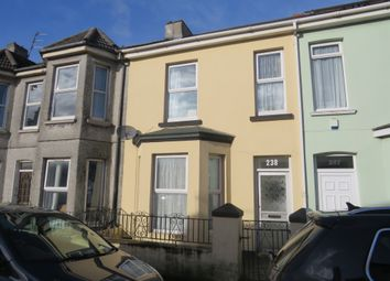 Thumbnail 2 bed terraced house for sale in Grenville Road, Plymouth