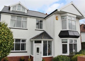 Thumbnail 5 bed detached house for sale in Grange Road, West Cross, Swansea