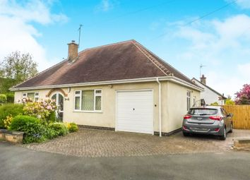 Thumbnail 2 bedroom detached bungalow for sale in Valjean Crescent, Kirby Muxloe, Leicester