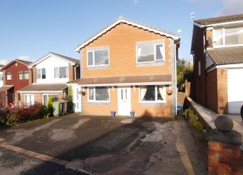 Thumbnail 4 bed detached house to rent in Ashfield Crescent, Billinge