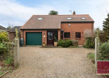 Thumbnail 3 bed detached house for sale in Chapel Road, Lingwood, Norwich