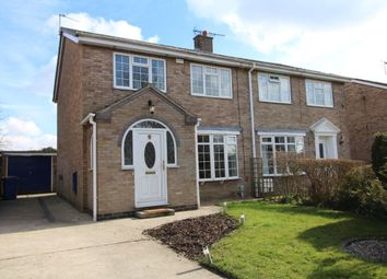 Thumbnail 3 bed semi-detached house to rent in Beech View, Cranswick, Driffield