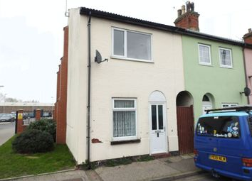 Thumbnail 2 bedroom end terrace house for sale in Clifton Road, Lowestoft