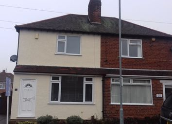 Thumbnail 2 bed semi-detached house to rent in Willbert Road Arnold, Nottingham