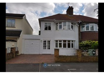 Thumbnail 3 bed semi-detached house to rent in Selsey Crescent, Welling