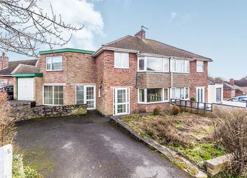 Thumbnail 3 bed semi-detached house for sale in St. Bernards Road, Whitwick, Coalville