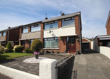 Thumbnail 3 bedroom semi-detached house for sale in Carnhill Road, Newtownabbey