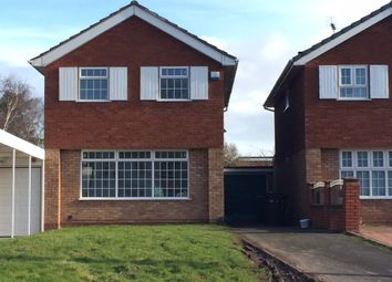 Thumbnail 3 bed detached house to rent in Hordern Road, Wolverhampton
