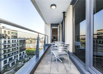 Thumbnail 2 bed flat for sale in Dolphin House, Lensbury Avenue, London