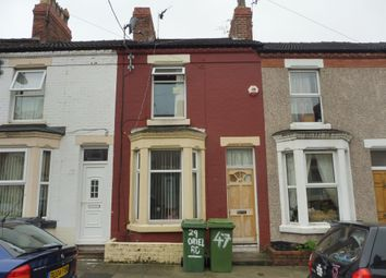 Thumbnail 2 bedroom terraced house for sale in Moorland Road, Tranmere, Birkenhead