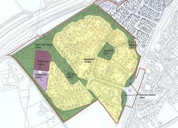 Thumbnail Land for sale in Land @ Whittington Crescent, Marston Moretaine, Marston Feilds, Bedford, Bedfordshire