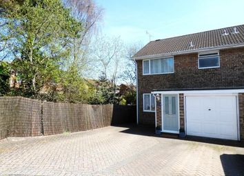 Thumbnail 3 bedroom semi-detached house for sale in Sandyhurst Close, Poole