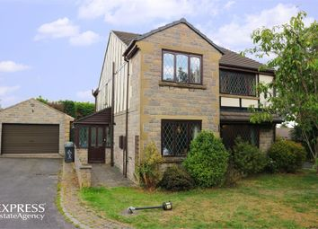 Thumbnail 4 bed detached house for sale in Dray View, Dewsbury, West Yorkshire