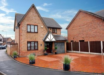 Thumbnail 4 bed detached house for sale in Brancaster Close, Tamworth