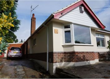 Thumbnail 3 bed detached bungalow for sale in Meadow View Road, Bournemouth