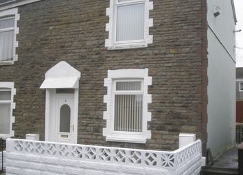 Thumbnail 2 bed end terrace house to rent in Weig Road, Gendros, Swansea