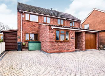 Thumbnail 4 bed detached house for sale in Danesfield Drive, Leominster