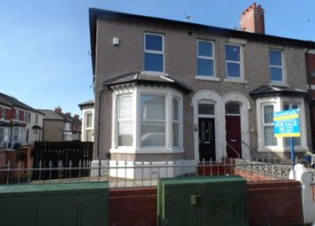 Thumbnail 2 bed end terrace house for sale in Egerton Road, Blackpool
