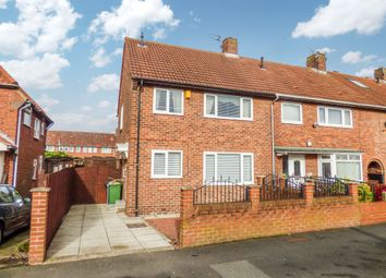 Thumbnail 3 bed terraced house for sale in Rugby Gardens, Wrekenton, Gateshead