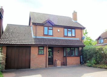 Thumbnail 4 bed detached house to rent in Radcliffe Close, Frimley, Camberley