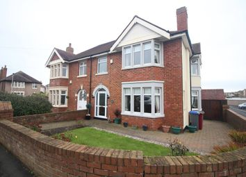 Thumbnail 4 bed semi-detached house for sale in Norkeed Road, Thornton-Cleveleys