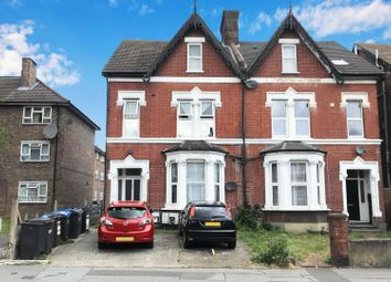 Thumbnail 1 bed flat for sale in 144 Brigstock Road, Thornton Heath, Surrey