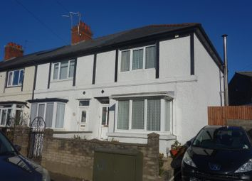 Thumbnail 3 bed end terrace house for sale in Redlands Road, Penarth