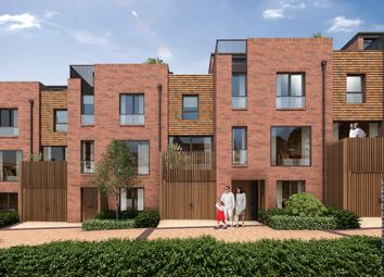 Thumbnail 4 bedroom end terrace house for sale in Woodside Square, Muswell Hill