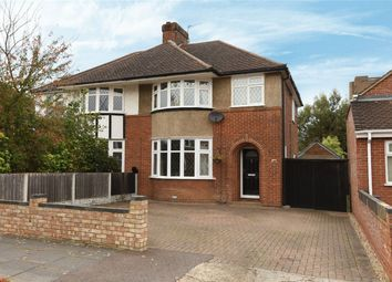 Thumbnail 3 bed semi-detached house for sale in Risborough Road, Bedford