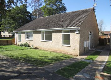 Thumbnail 2 bed semi-detached bungalow for sale in Prince Of Wales Close, Wisbech