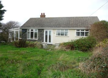 Thumbnail 3 bed detached bungalow for sale in Y Draenen Wen, Carnhedryn, Solva, Haverfordwest, Pembrokeshire