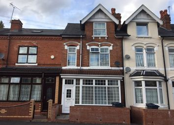Thumbnail 4 bed terraced house for sale in Oakwood Road, Birmingham