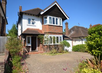 Thumbnail 3 bed detached house for sale in Avondale Avenue, Hinchley Wood, Esher