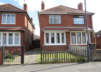 Thumbnail 2 bed semi-detached house for sale in Wynton Avenue, Alvaston, Derby