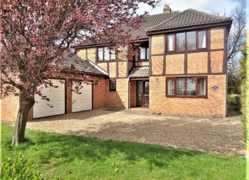 Thumbnail 4 bed detached house for sale in Wickenby, Lincoln
