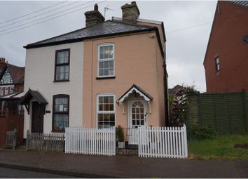 Thumbnail 3 bedroom semi-detached house for sale in Station Road, Harleston