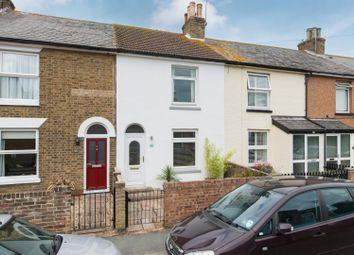 Thumbnail 2 bed terraced house for sale in Gladstone Road, Walmer, Deal