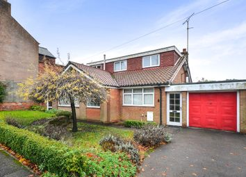 Thumbnail 4 bedroom detached bungalow for sale in Berry Hill Lane, Mansfield